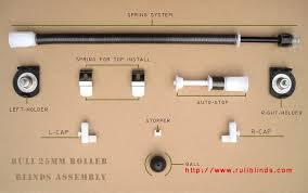 Auto Roller Blinds 25mm 31mm Spring Roller Blind Assembly Buy Spring Roller Blind