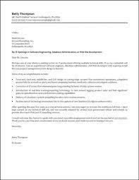 cover letter for software developer sample cover letter for