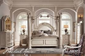 Ashley Shay King Poster Bedroom Set In Black Finish Creditrestoreus - California king size canopy bedroom sets