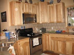 top hickory cabinets kitchen 89 within home enhancing ideas with
