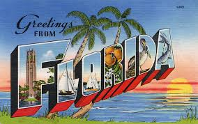 greetings from florida large letter postcard production flickr