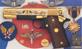 Us Army Decorations Army Air Corps Tribute Pistol America Remembers
