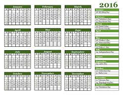 2016 calendar template printable 10 calendar 2017 2018