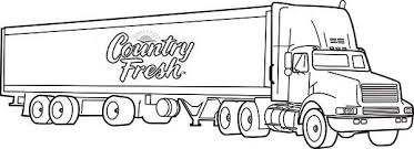 coloring stunning semi coloring pages truck volvo