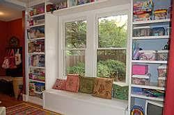 Window Seat Bookshelves Ideas For Window Seats In A Playroom All Blog Custom