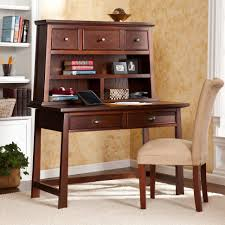Secretary Desk With Drawers by Home Decoration Tall Brown Bookshelves With Glass Doors And