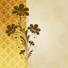Decorative Flowers by Vector Vintage Floral Background With Decorative Flowers For