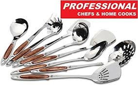 Professional Kitchen Accessories - silver utensils amazon com