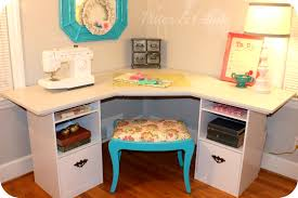 bedroom craft desk with storage remarkable ana white modern