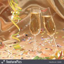 picture of champagne glasses carnival and party scenery