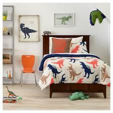 Dinosaur Double Duvet Jurassic Jams Comforter Set Tan Pillowfort Target