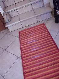 stuoia bamboo gallery of promozioni tappeti cucina tappeti tappeti cucina stuoia