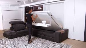 Affordable Modern Sofa by Tango Resource Furniture Wall Bed Systems Youtube Idolza