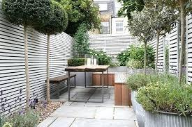 Garden Dividers Ideas Small Garden Ideas Small Patio Garden Has A Reclaimed Wooden Bench