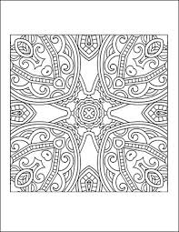 printable coloring pages for adults geometric free printable geometric coloring pages for adults