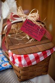 picnic gift basket wedding gift picnic basket
