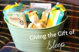 expecting gift giving the gift of sleep to an expecting with pers