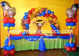 curious george birthday party ideas curious george 1st birthday party supplies party themes inspiration