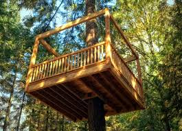elevated living s eco friendly tree homes take outdoor play to new