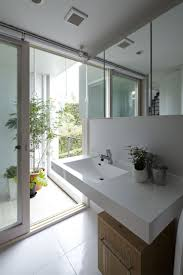 Wash Basin Designs by Rectangle White Floating Wash Basin On White Wall Connected By