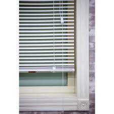 window shutters interior home depot white 1 in light filtering vinyl blind 25 in w x 64 in l