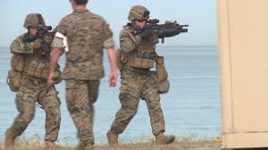 camp pendleton marines conduct amphibious assault training