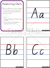 number names worksheets cursive writing chart printable