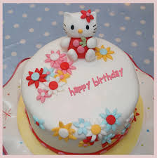 hello kitty birthday cake with name add text to photo