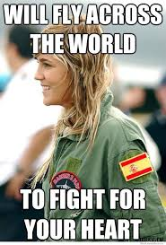Photogenic Meme - ridiculously photogenic female fighter pilot weknowmemes