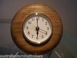 wood turned wall hasara wood turned wall clock ebay
