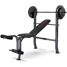 marcy 100 lb weight bench set bench decoration
