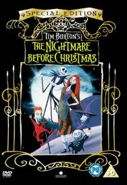 the nightmare before dvd hmv store