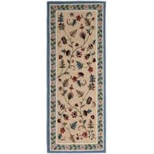 Washable Runner Rugs Flower Patch Washable Runner Rug Jcpenney