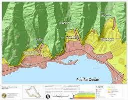 Map Of Big Island Hawaii Hawaii State Tsunami Evacuation Maps