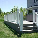 deck and porch do it yourself projects build a deck handrails