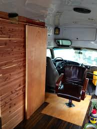 diy sliding barn style door for our bus rv conversion u2014 under 30