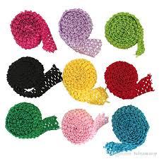 headband roll 1 5inch crochet headband stretch trim roll elastic waistband by