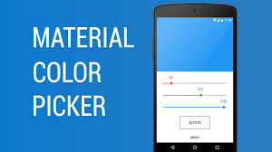 android color picker material color picker demo