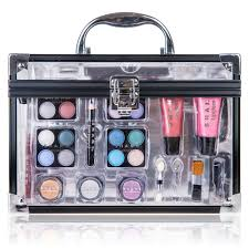 carry all trunk makeup case cosmetic gift set shany cosmetics