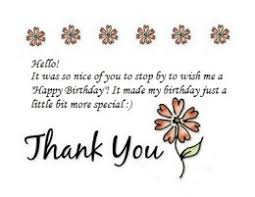 thank you notes for birthday wishes birthdays and