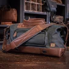 small travel bag canvas weekender bag buffalo jackson