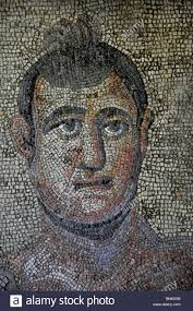 roman wall stock photos roman wall stock images alamy italy mosaic person face old antique roman wall portrait art skill stock image