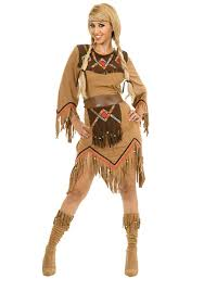 charades s sacajawea indian maiden costume set