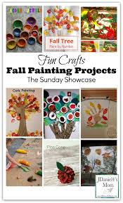 fun crafts fall painting projects