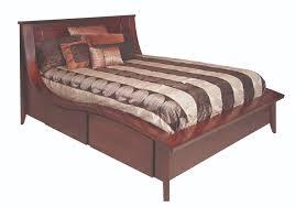 Bedroom Furniture New Hampshire Kingston Wave Bed Gish U0027s Amish Legacies
