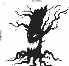 halloween stickers bulk aliexpress com buy halloween carnival black ghost tree wall