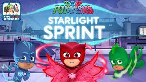 pj masks starlight sprint stop romeo night ninja u0026 luna