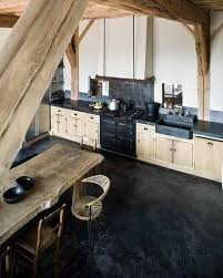 cuisine bois bois brut en cuisine kitchens lofts and interiors
