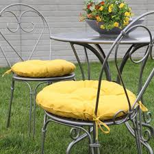 Outdoor Bistro Chair Pads Attractive Round Bistro Chair Seat Cushions With Best 25 Round