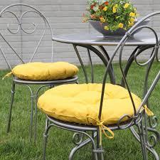 attractive round bistro chair seat cushions with best 25 round